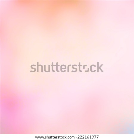 soft pink peach blurred background design, bright sunny light blurs and smooth texture. - stock photo
