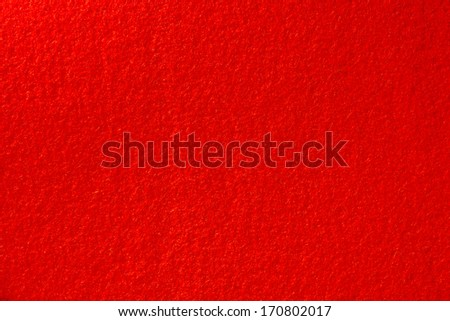 Soft red carpet - stock photo