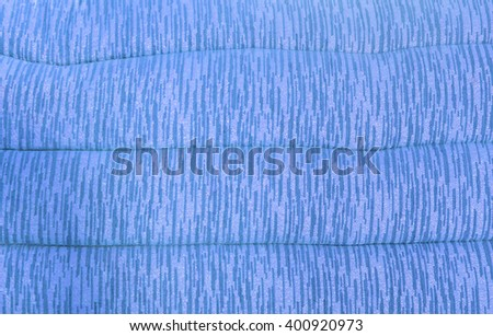 Soft Shiny Blue Pattern Pillow Background Texture for Furniture Material - stock photo