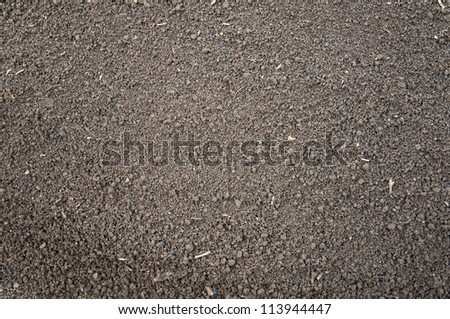 Soil- color image,  photography - stock photo