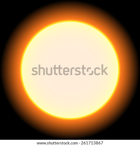 Solar eclipse; sun; moon; sunlight; corona; astronomy; sunset; phases - stock photo