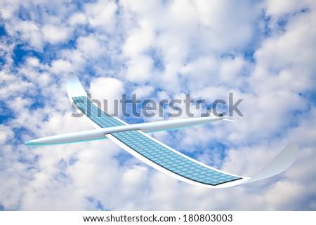Solar energy airpanels - stock photo