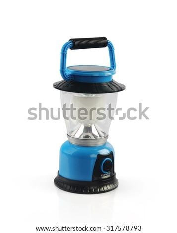 Solar Lamp - stock photo