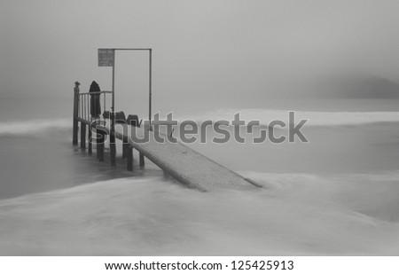 Solitude - stock photo