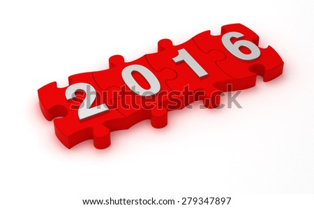 Solution 2016 - stock photo