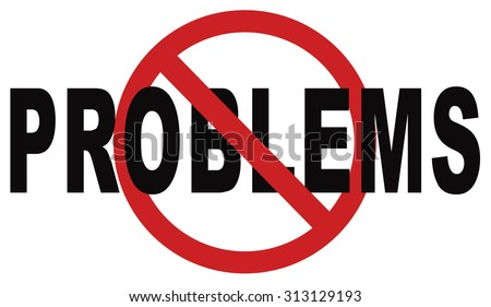 solving problems no problem cant be solved finding a solution - stock photo