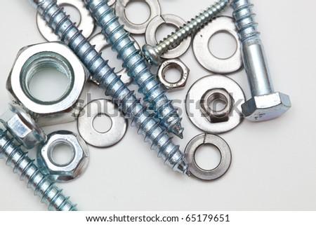 Some iron hardware - stock photo