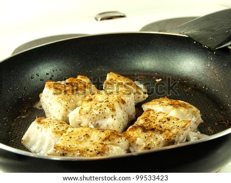 Pollock fish stock photos images pictures shutterstock for How to season fish for frying