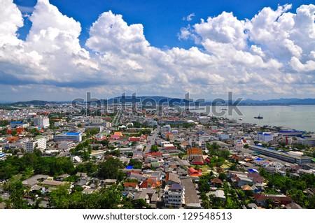 Songkhla Town - stock photo