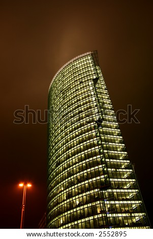 Sony Center in Potsdamer Platz, Berlin - stock photo