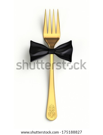 sophisticated cuisine - stock photo