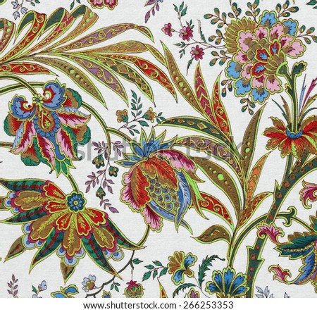 sophisticated floral pattern    - stock photo