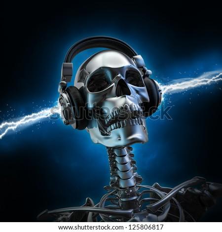 Soul music - stock photo