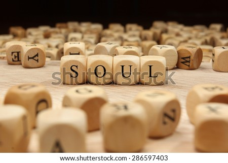 SOUL word concept - stock photo