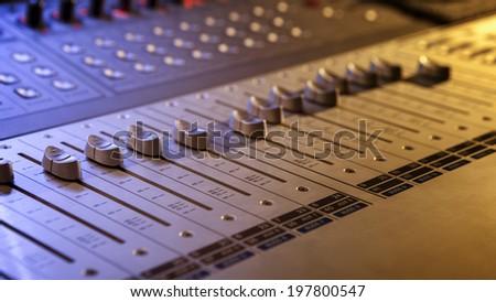 Sound Engineering - stock photo