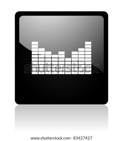 sound icon - stock photo