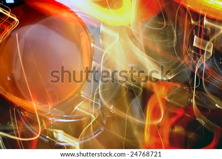 Sound magic - stock photo