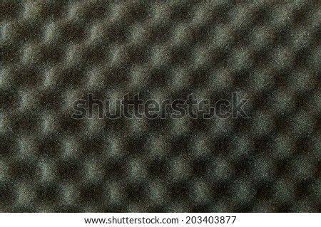 Sound proof foam - stock photo