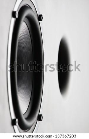 sound speaker - stock photo