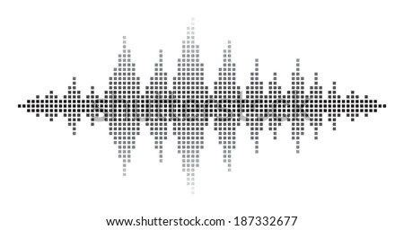 Sound Waves - stock photo