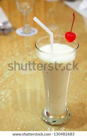 soursop juice - stock photo