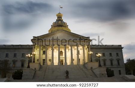 South Carolina State House - stock photo