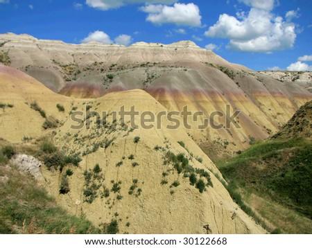 South Dakota - Badlands National Park - stock photo