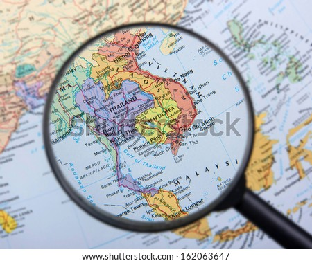 South East Asia - stock photo