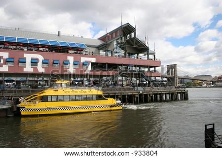 South Street Seaport, NYC - stock photo