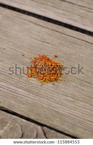 Southern spice mix - stock photo