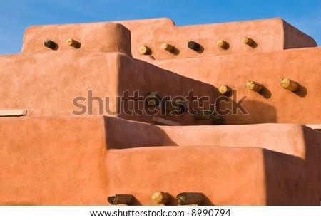 Southwestern architecture - stock photo