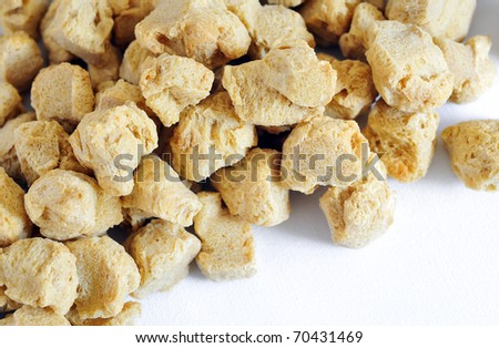 Soy Protein - stock photo