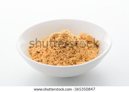 soybean flour - stock photo