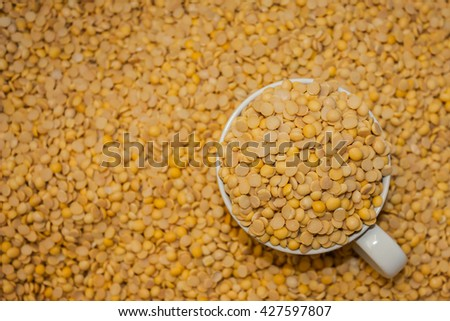 Soybeans made soy milk. - stock photo