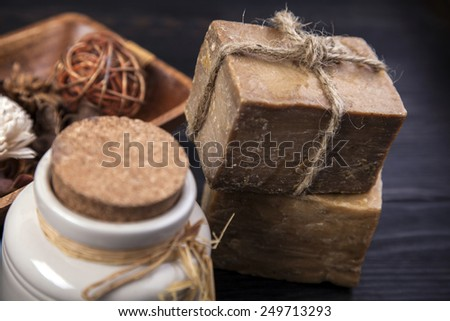 Spa and beauty. Aroma therapy, studio shots - stock photo