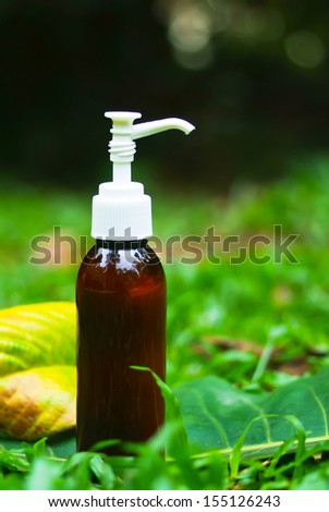 spa aromatherapy oil - beauty treatment - stock photo