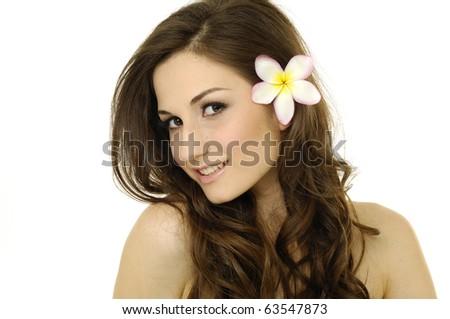 Spa Girl - stock photo