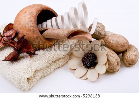 Spa Items - stock photo