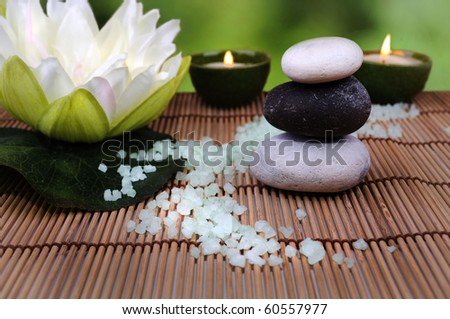 spa products - stock photo