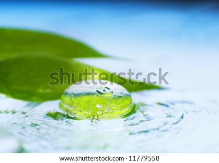 Spa still life (shallow DoF) - stock photo