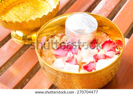 Spa still life with  lotus - stock photo