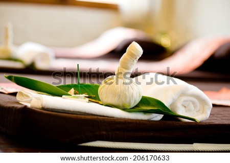 spa,Wellness and spa concept - stock photo