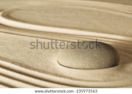 spa wellness massage stone therapy background - stock photo