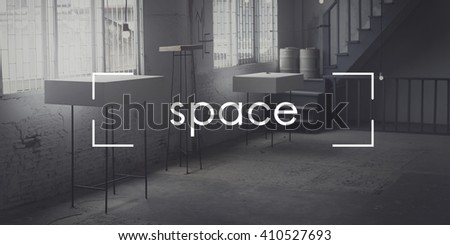 Space Design Decorate Modern Office Private Concept - stock photo