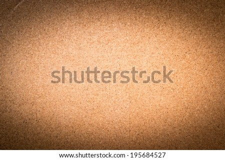 space for text on cork board texture - stock photo
