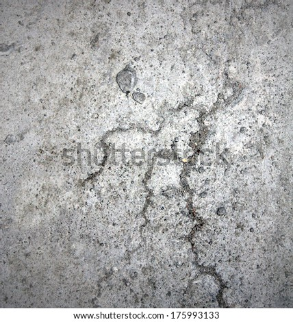 Space of vintage grungy paint white brickwall background of natural cement or stone old dark stucco gray texture as a retro pattern wall in rural room from stonework technology, architecture wallpaper - stock photo