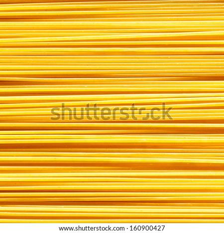 Spaghetti Noodles, Above View - stock photo