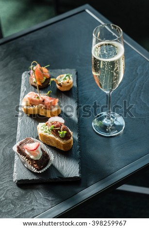 spanish appetizer - stock photo