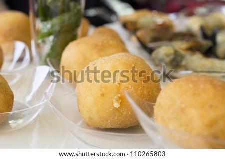 Spanish food. Spain diet for summer - stock photo