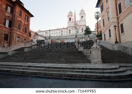 Spanish Steps, Rome - stock photo